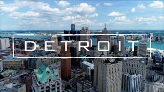 Detroit, Michigan   4K Drone Footage