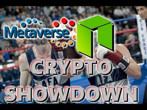 Crypto Coin Showdown: NEO Smart Economy Vs Metaverse ETP New Reality Blockchain