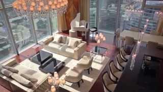 Сюжет о шикарном пентхаусе в Москва-Сити(Комментарии излишни. По слухам, стоимость апартаментов составляет порядка 10 000 000$. Помещение находится..., 2015-02-19T19:05:55.000Z)