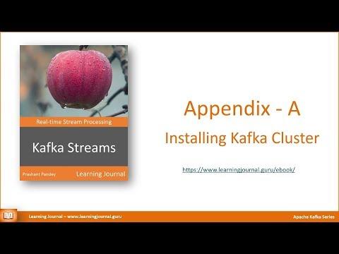 Kafka Streams - Installing Multi Node Kafka Cluster