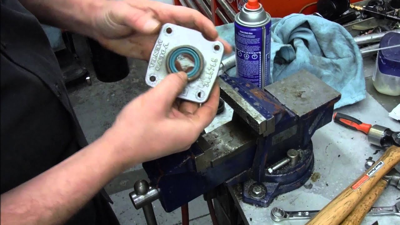 VOLVO SX DRIVE SHIFT SHAFT SEAL REPLACEMENT | Doovi