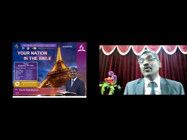 France In The Bible   Tamil Sermon By Pastor David Nesakumar