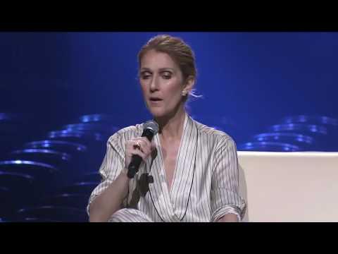 Celine Dion en conférence de presse à Montreal - 31 Juillet 2016 - Partie 3