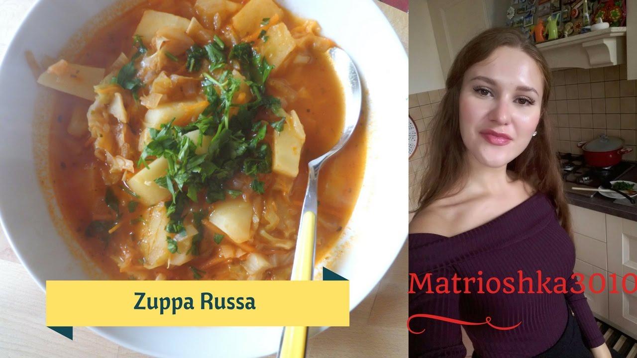 La ricetta della Zuppa Russa Matrioshka in cucina