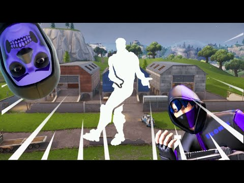 Purple Skull Trooper and Ikonik do Smooth Moves!  LIT
