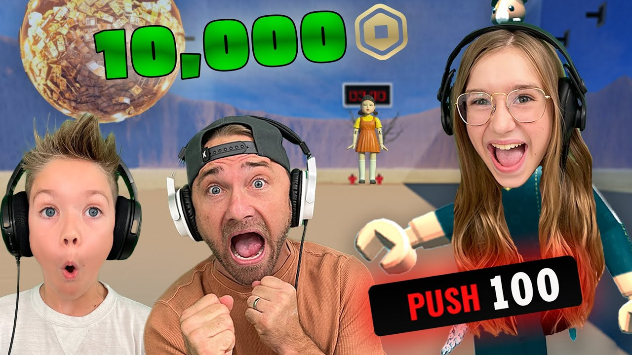 Download Roblox Squid Game But Last Man Standing Wins $10,000 Robux!! *Red Light Green Light*