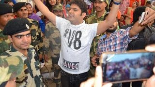 Kapil Sharma visits Wagah border with team, mee...
