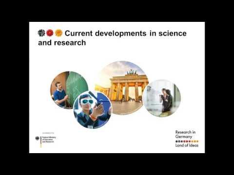 Webinar: The German Research Landscape & Funding Opportunities