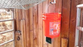 Automatic Water Powered Chicken Coop Door Opener
