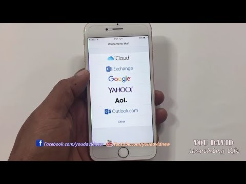 How To Open Inbox Gmail , Yahoo , Hotmail & Other On Mail IOS