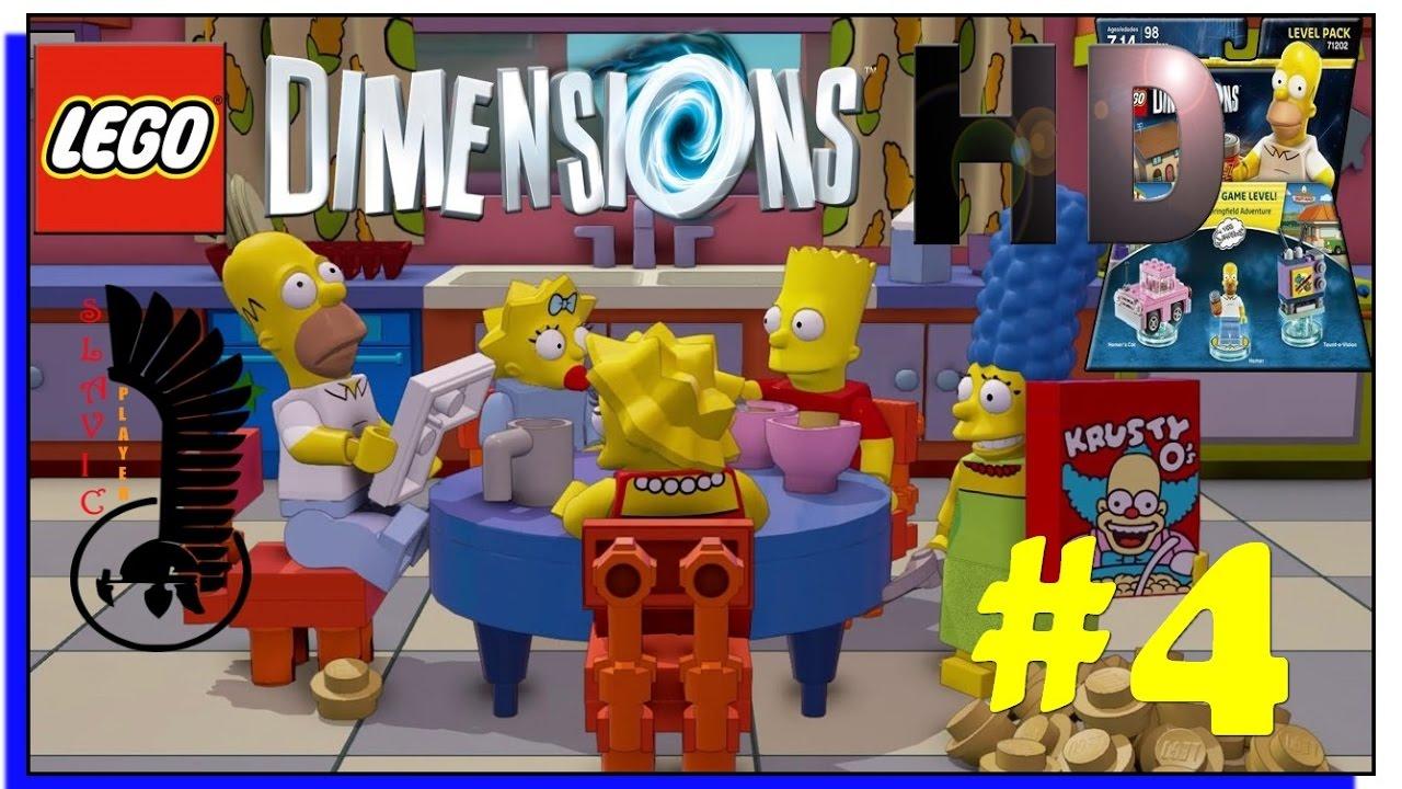 the simpsons lego dimensions walkthrough gameplay part 3. Black Bedroom Furniture Sets. Home Design Ideas