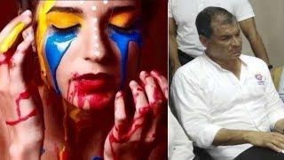 Rafael Correa el Camarada de las FARC que desangra al Ecuador 😥