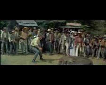 The Kentuckian Whip Fight Burt Lancaster
