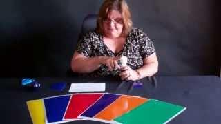 Gel Acetates - Color Gels for Light Bulbs