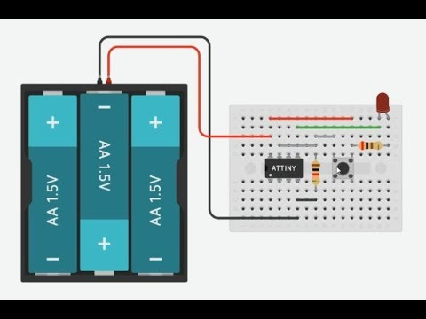 Lab 5: Arduino UNO/ATtiny85 Attachinterrupt + Tinkercad Simulation (使用Arduino AttachInterrupt的實驗)