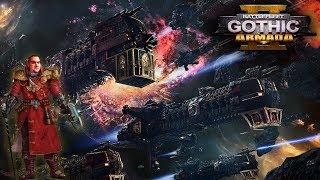 [18+] Шон играет в Battlefleet Gothic Armada 2 - стрим 12 (PC, 2019)