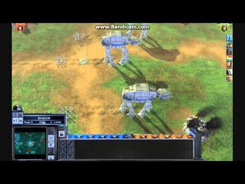 Star Wars Empire At War AT-AT Assault (Quick Skirmish)