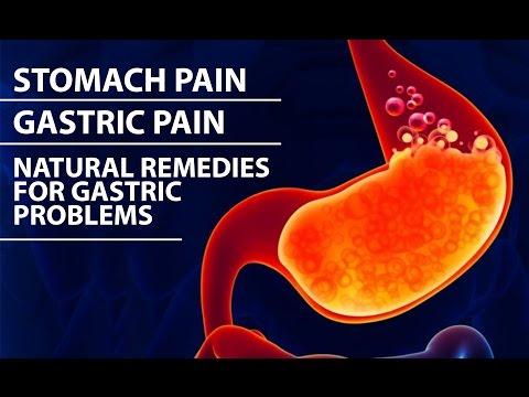 stomach ache or stomach ache