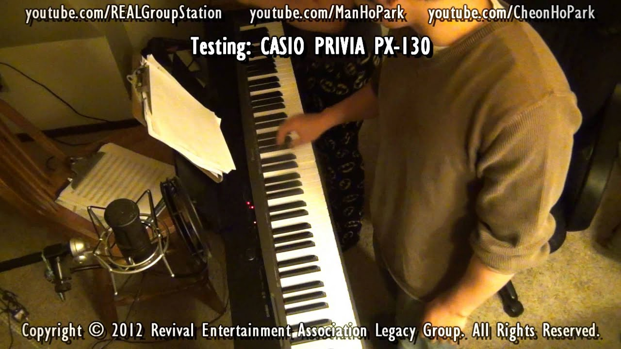 casio privia px 130 vs yamaha p 95 who wins youtube