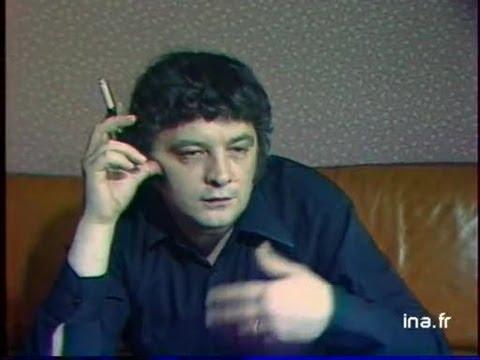 Portrait de l'écrivain Jean-Patrick Manchette