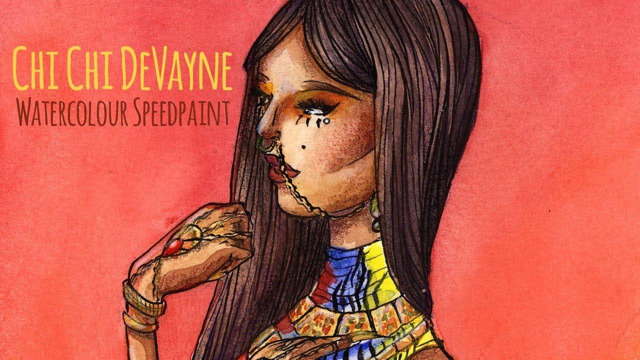 Draw With Me | Chi Chi DeVayne - Rupaul's Drag Race All Stars 3 ...