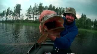 север Карелии 2016 (рыбалка в июле)