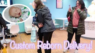 Hnad Delivering Custom Reborn baby Twin A | Kelli Maple