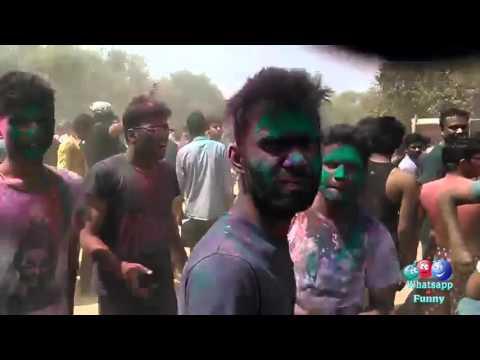 funny holi video 2016 latest 2