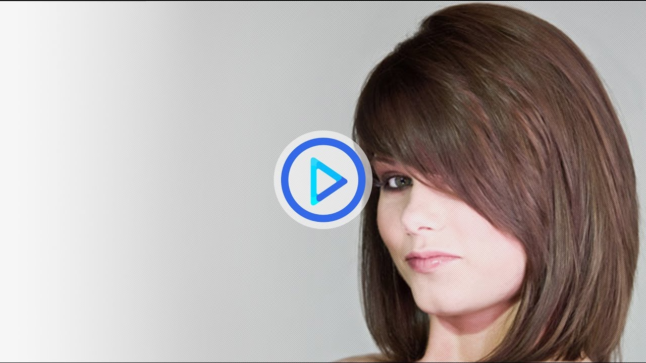 How To Cut Womens Mid Length Hair Short And Long Layers Haircut