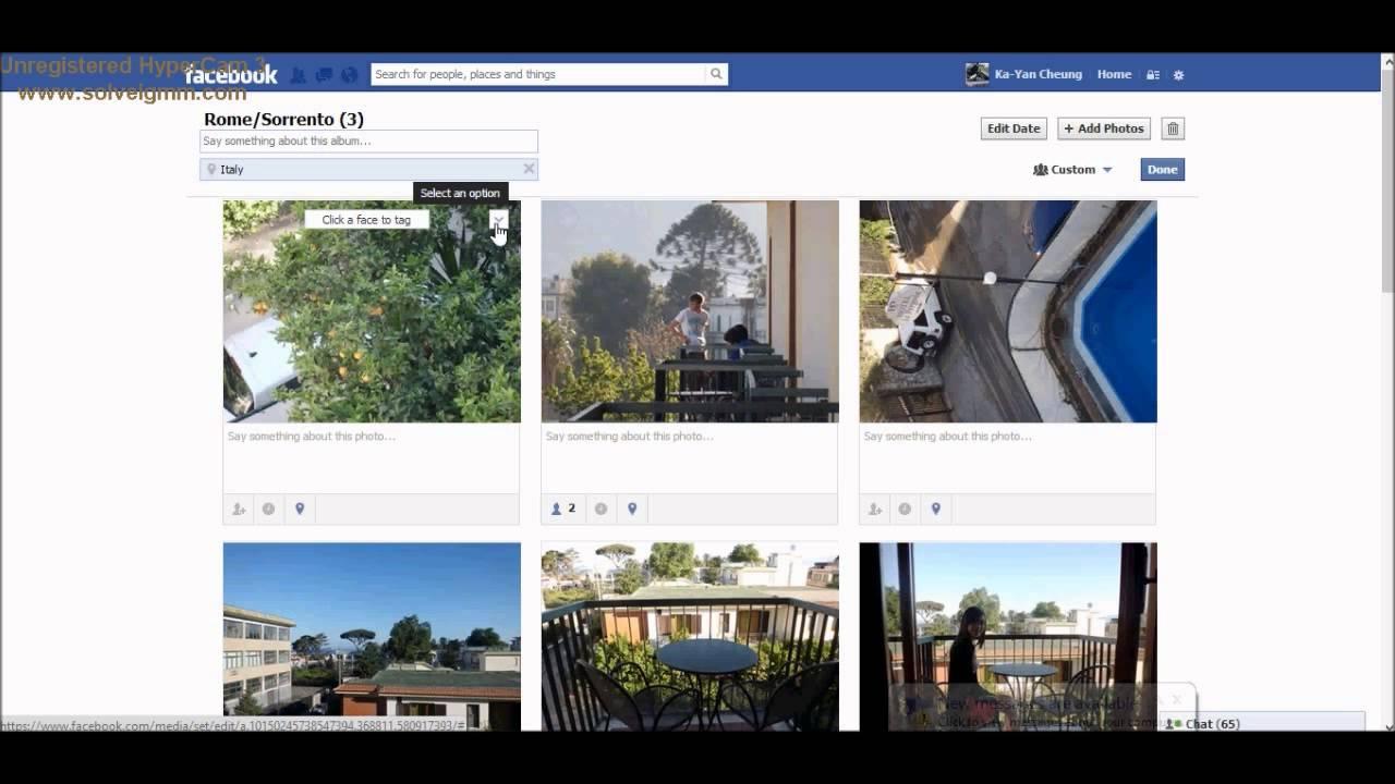 how to add photos to facebook album