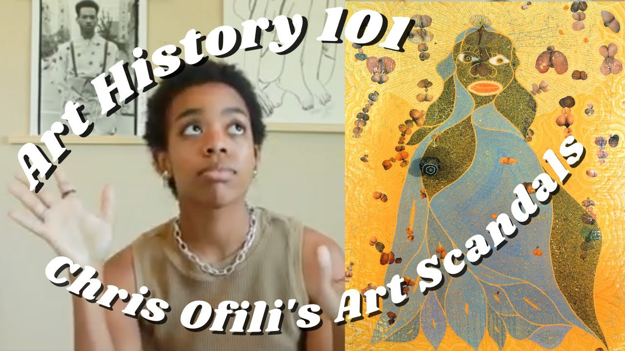 Art in Color | Chris Ofili and The Art World Scandal of The Holy Virgin Mary