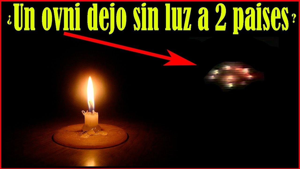 Resultado de imagen para extrañas luces durante el apagon de argentina y uruguay