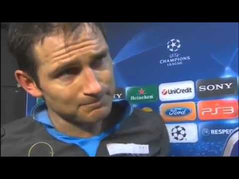 Chelsea vs Napoli 4-1 - Frank Lampard & John Terry Interview