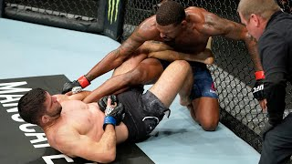 Top Finishes From UFC Vegas 31 Fighters