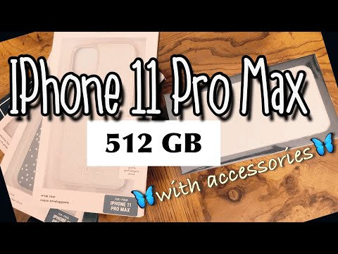 IPHONE 11 PRO MAX SILVER 512 GB UNBOXING & REVIEW | With Accessories