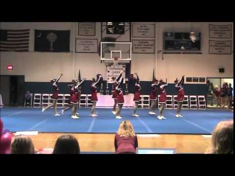 Spartanburg Christian Academy Competition Cheerleading 2009