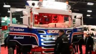Scania R580 PWT Thermo, Truck Show Ciney 2016