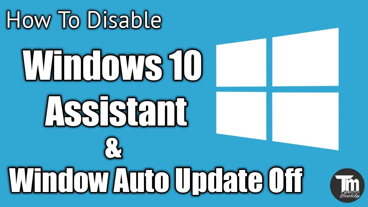 how to disable windows 10 auto update assistant