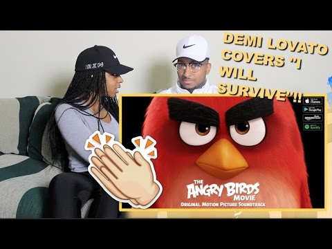 "Couple Reacts : Demi Lovato ""I Will Survive"" From The Angry Birds Movie Reaction!!!"