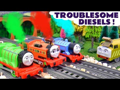 Toy Trains Thomas and Friends Troublesome Diesels Story