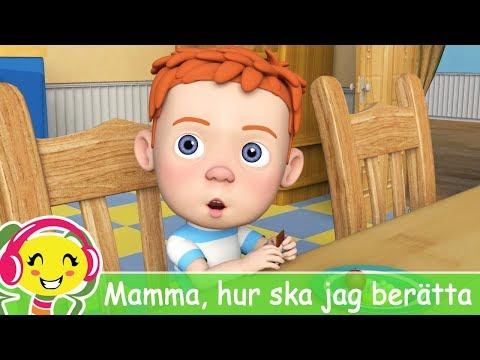 Cantec nou: Mamma, hur ska jag bertta ?  Barnsnger p Svenska   BarnMusicTV