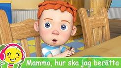 Mamma, hur ska jag berätta ? 🍬 Barnsånger på Svenska | BarnMusicTV