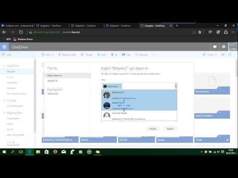 Microsoft OneDrive Kullanımı