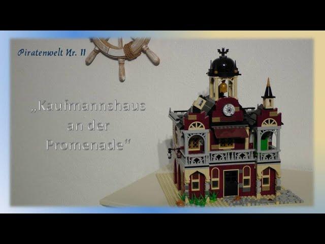 Lego Piraten im Steinekeller # 11 - Kaufmannshaus an der Promenade