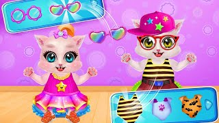 Kitty Care Twin Baby Game