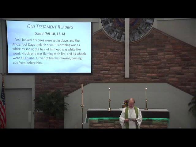 11/15/2020 Worship Service
