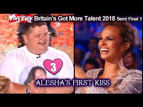 Alesha Dixon Reunited with Her First Kiss Britains Got Talent 2018 Semi Final Grp 1 BGT S12E08