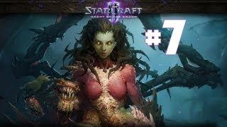 StarCraft 2 - Пробуждение Древнего - Часть 7 - Ветеран - Прохождение Кампании Heart of the Swarm