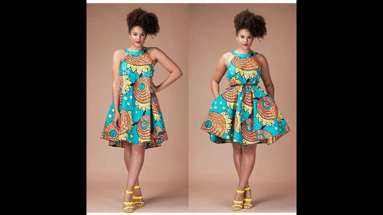 Top 50+ African Print Dresses : Beautiful And Stylish African ...
