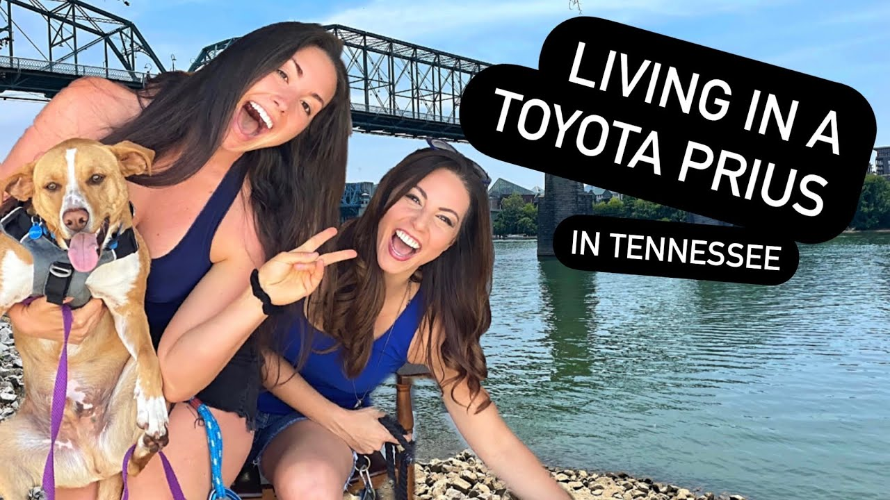 Living in a Car: Tennessee, BFF's & Camper steals the show! - Full-time in a Toyota Prius